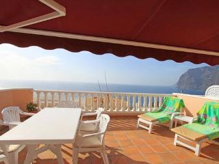 Holiday apartment with 45m² floor area  19 m² terrace with stunning views - ES-1077328-Los Gigantes-Santiago del Teide - Tenerife vacation rentals