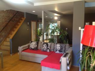 Huge Modern Plateau 3 Queen Size Apartment on 2 levels - Montreal vacation rentals
