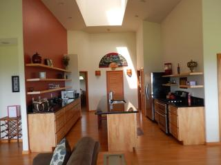 Asian inspired newer clean home with ocean views! - Pepeekeo vacation rentals