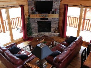 Happy Trails Log Cabin in Bear Creek Crossing - Sevierville vacation rentals