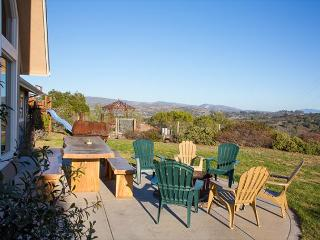 NEW LOWER SUMMER RATES! 4BR/2BA Hilltop Views! Wine Country Relaxation! - Lompoc vacation rentals
