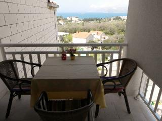 Pleasant studio with balcony, sea view, near beach - Cavtat vacation rentals