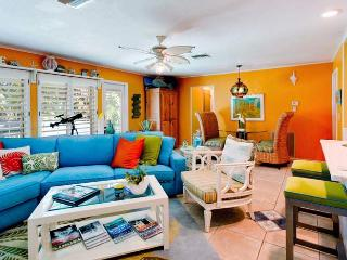 Simpatico: 2BR/2.5BA Pet-Friendly Canal Home with Dock/Kayaks - Holmes Beach vacation rentals