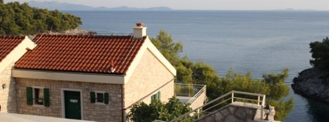 MASLINA apartment on the coast, Villa Ius,Gršćica, Korčula - Image 1 - Prizba - rentals
