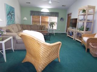 Large 1 BR BA (5CV) Villa w/ King, mile from beach - Sunset Beach vacation rentals