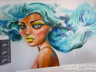 Miami Mermaid 1BR High-End Rental, Mural Art - Miami vacation rentals