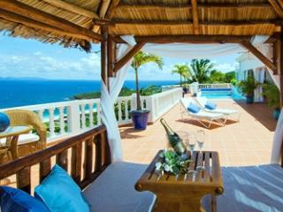 Private 4 Bedroom Villa with View of the Caribbean Sea in Red Pond - Dawn Beach vacation rentals