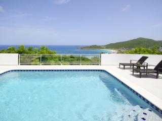 Immaculate 4 Bedroom Villa with View & Private Pool on Tamarind Hill - Dawn Beach vacation rentals