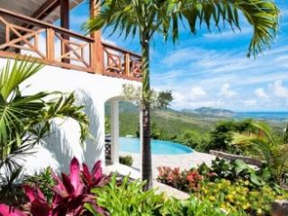 3 Bedroom Hillside Villa with Pool in Oyster Pond - Oyster Pond vacation rentals