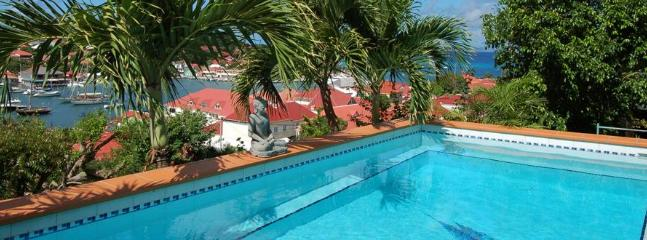 Spectacular 3 Bedroom Villa Overlooking the Harbour of Gustavia - Gustavia vacation rentals