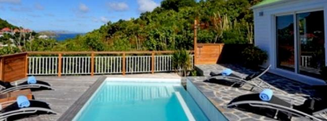 Marvelous 2 Bedroom Villa with Private Terrace & Pool in Flamands - Saint Barthelemy vacation rentals
