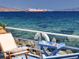 Captain Zeppos - Suite Rose, 50m from the beach in Apolonia - Cyclades vacation rentals