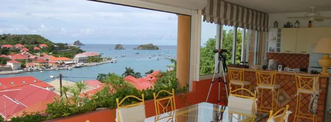 Gorgeous 2 Bedroom Apartment with View in Gustavia