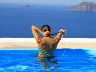 Villa with prvt swimming pool,Volcano view,parking - Santorini vacation rentals
