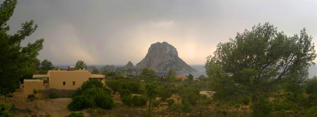 House with Es Vedra on the back ground - Exclusive Ibiza Villa with oceanview and sunset - Ibiza - rentals
