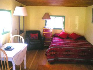 Huxley Cabin, Historic Eco Lodge on a 40 acre organic goji berry farm - San Cristobal vacation rentals