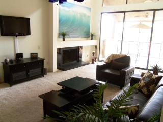 Lake view 3 bedroom condo near the airport, ASU, golf and shopping - Tempe vacation rentals