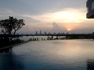 Cosy riverview apartment with beautiful infinity pool - Vietnam vacation rentals