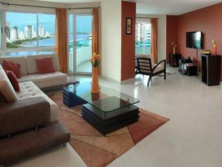 Semi-Penthouse Torres Del Lago accomdates 9 guests - Cartagena District vacation rentals
