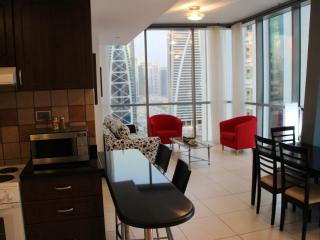 Amazing one bed with panoramic view - Dubai vacation rentals