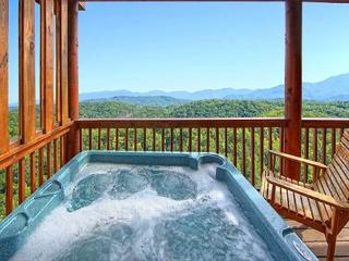 4 BR CABIN WITH AMAZING VIEWS OF THREE MOUNTAIN RANGES & NATIONAL PARK! - Pigeon Forge vacation rentals