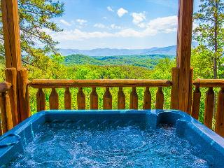Beautiful 3 Bedroom Log Cabin with Stunning Panoramic Mountain Views - Pigeon Forge vacation rentals