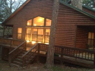 Peaceful Hilltop Luxury Cabin, Family Friendly - Broken Bow vacation rentals