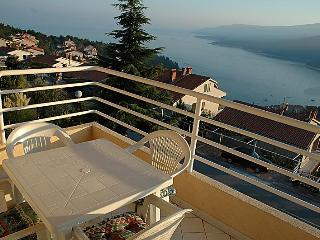 Panorama sea view apartment in Rabac - Rabac vacation rentals