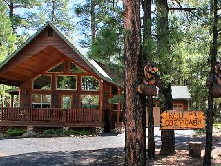 KOBEY'S COZY CABIN - Amazing Cabin-Amazing Rates! - Pinetop vacation rentals