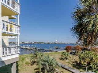 Bay View Condo with Boat Dock/ Great View of Ono Island - Ono Island vacation rentals