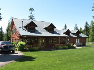 Cougar Trail Ranch, Flatheads Family Reunion Spot. - Bigfork vacation rentals