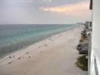 View from private balcony - Gulf Front Condo 9th Floor *Pool, Hottub, Sleeps 6 - Panama City - rentals