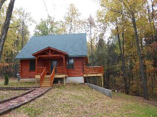 Lazy Creek Cabin-newly built in secluded area - French Lick vacation rentals