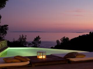 Luxury villa in Ibiza with amazing sea views - Roca Llisa vacation rentals