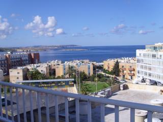 3 bedroom penthouse with large sea view terraces, Qawra - Qawra vacation rentals