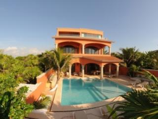 Magnificent 6 Bedroom Beachfront Villa in Soliman Bay - Quintana Roo vacation rentals
