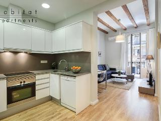 Boulevard 1 Apartment with Balcony, in the heart of the Eixample District - Barcelona vacation rentals