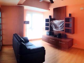 Living Room - Brand new 1 bedroom overlooking Ortigas skyline - Mandaluyong - rentals
