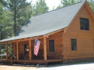 PEACEFUL LOG HOME TUCKED IN THE WOODS - RIVERFRONT - Grayling vacation rentals