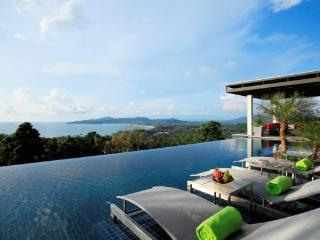 Magnificent 6 bedroom ocean view pool villa for rent in Surin Beach - sur16 - Surin Beach vacation rentals