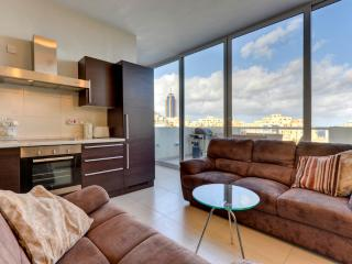 042 St Julians Seafront 2-bedroom Penthouse - Sliema vacation rentals
