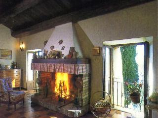 Indipendent farmhouse with a breathtaking view over river Paglia's valley. - Acquapendente vacation rentals