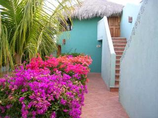 Las Palmas Tropicales Beachfront Rentals overlooking the San Pedrito surf break. - El Pescadero vacation rentals