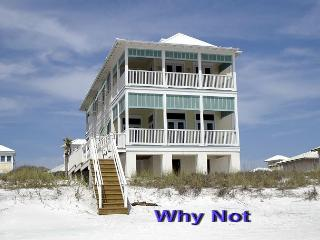 Why Not?, Every bedroom leads to a breezy porch. Beachfront home - Carillon Beach vacation rentals