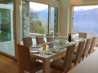 Stunning contemporory villa with captivating view - Argegno vacation rentals