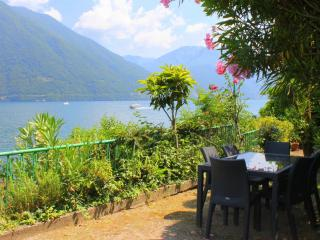 Stunning lakeside apartment with swim dock (Alto) - Argegno vacation rentals