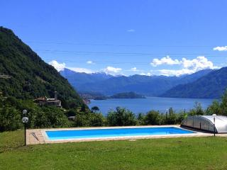 Garden Apt with pool 2 bedrooms sleep up to 6 - Argegno vacation rentals