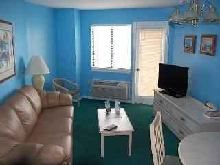 Bluewater 821-1 Bdrm Angle view unit with a ocean view - Myrtle Beach vacation rentals
