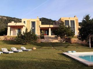 Finca Dos Torres by renowned architect with pool, ocean views & in ideal location - Ibiza vacation rentals