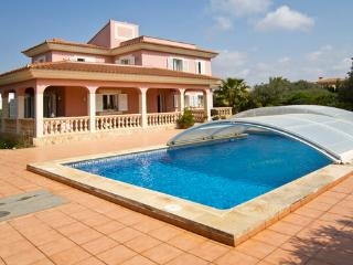 Holiday house with sea view with pool, for  8 people in a quiet place  - ES-1078013-Llucmajor - Llucmajor vacation rentals